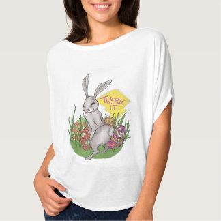 Bunny Twerk Easter T Shirt