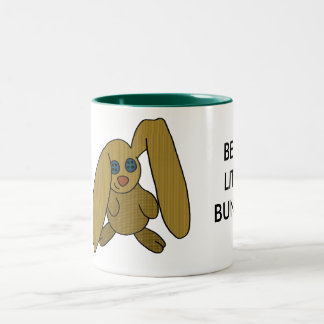 bunny Two-Tone coffee mug