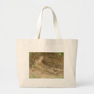 Bunny Under Pine Tree Bag