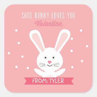 Bunny Valentine Sticker