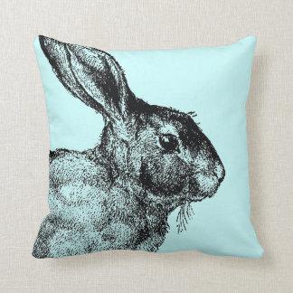Bunny vintage pillow