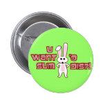 Bunny Want Sum Design Pins