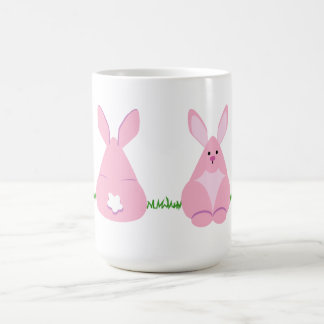 Bunny Watching Coffee Mug