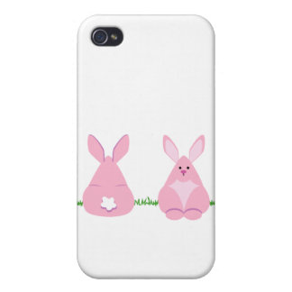 Bunny Watching iPhone 4 Cover