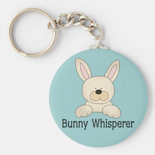 Bunny Whisperer Keychain