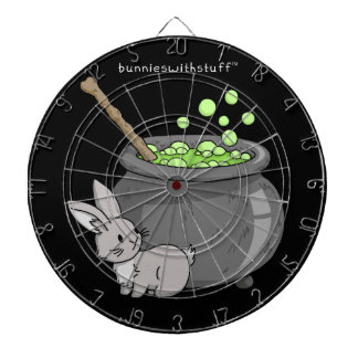 Bunny with a bubbling cauldron dartboards