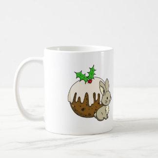Bunny with a Figgy Pudding Coffee Mug