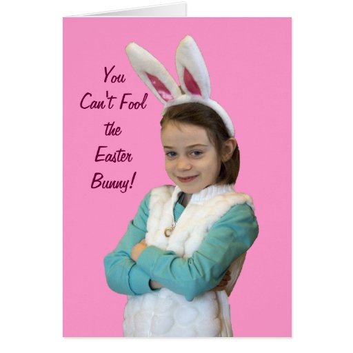 Bunny with Attitude Card