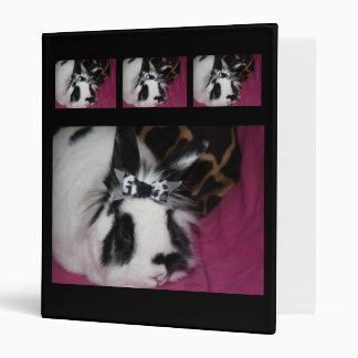 Bunny with Bow Binder