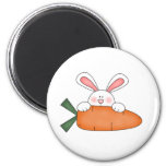 Bunny With Carrot Tshirts and Gifts Refrigerator Magnet