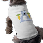 Bunny With Carrots Dog T Shirt