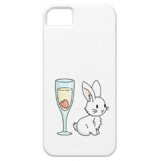 Bunny with Champagne iPhone SE/5/5s Case