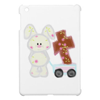 Bunny with cross case for the iPad mini