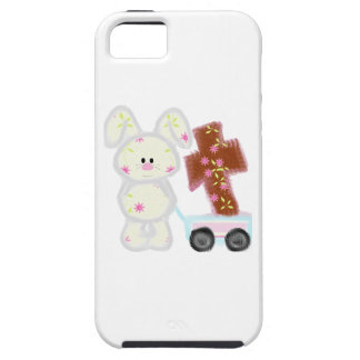 Bunny with cross iPhone SE/5/5s case