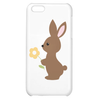 Bunny with Flower iPhone 5C Covers
