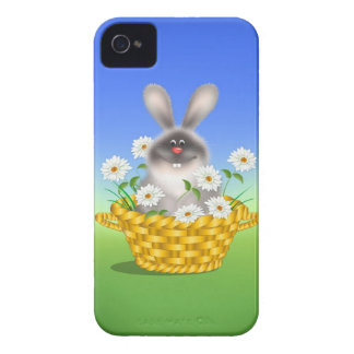 Bunny with Flowers Case-Mate iPhone 4 Case