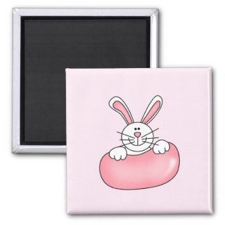 Bunny With Jelly Bean Tshirts and Gifts Refrigerator Magnets