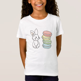 Bunny with Macaroons T-Shirt