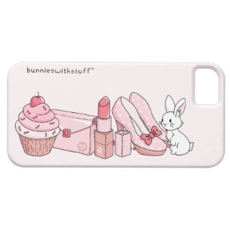 Bunny with pink stuff iPhone SE/5/5s case