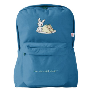 Bunny with Sandwiches Backpack