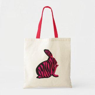 Bunny with Zebra Stripes Bag