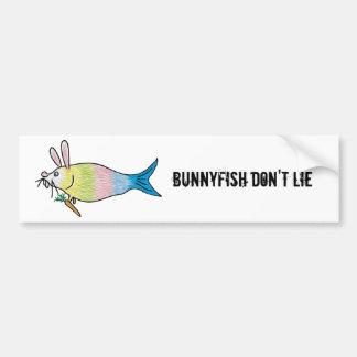 BunnyFish Bumper Sticker