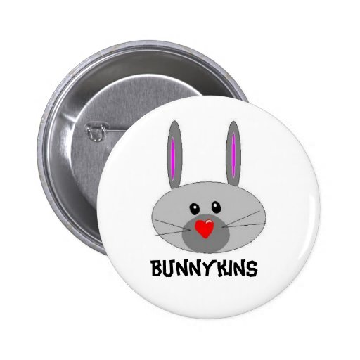 , Bunnykins Pinback Button