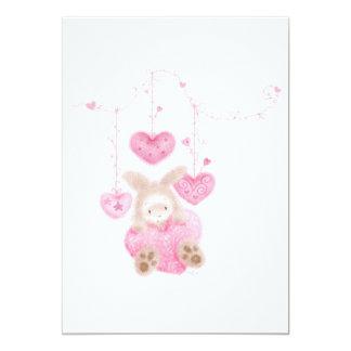 Bunnykins with a Big Heart Card