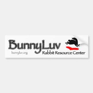 BunnyLuv Bumper Sticker