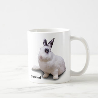 BunnyLuv mug featuring Diamond