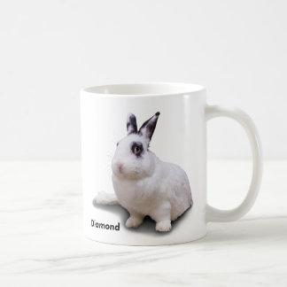 BunnyLuv mug featuring Diamond