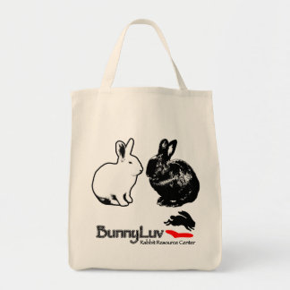BunnyLuv Tote Bag featuring Ophelia and Pixie