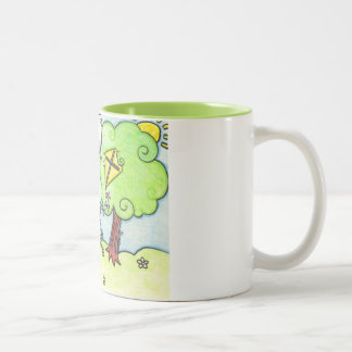 Bunny's kite is stuck in a tree mugs