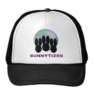 Bunnytized Cosmic Bunny Full Moon Trucker Hat