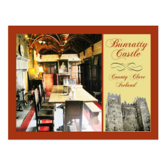 Bunratty Castle County Clare Ireland Post Cards