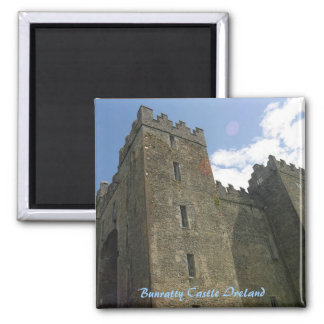 Bunratty Castle Ireland 2 Inch Square Magnet