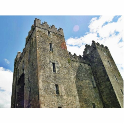 Bunratty Castle Standing Photo Sculpture