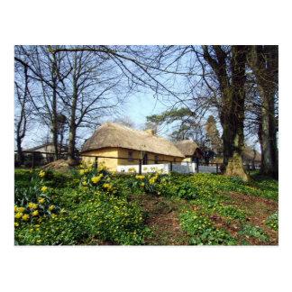 Bunratty Folk Park cottage Post Cards