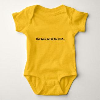 Buns Contents under pressre Baby Bodysuit