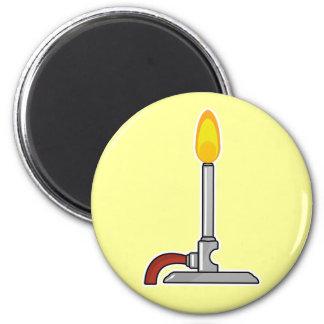 Bunsen Burner 2 Inch Round Magnet