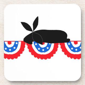 Bunting Bunny Coaster