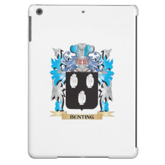 Bunting Coat of Arms iPad Air Covers