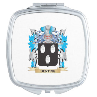 Bunting Coat of Arms Compact Mirrors