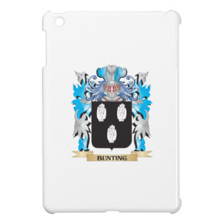Bunting Coat of Arms iPad Mini Covers