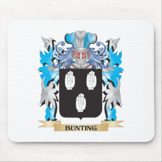 Bunting Coat of Arms Mouse Pad