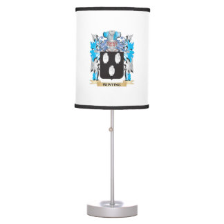 Bunting Coat of Arms Table Lamps