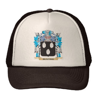 Bunting Coat of Arms Trucker Hat