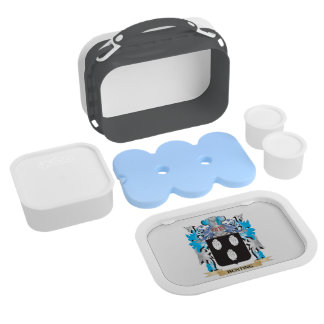Bunting Coat of Arms Yubo Lunch Box