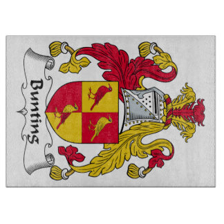 Bunting Family Crest Cutting Board