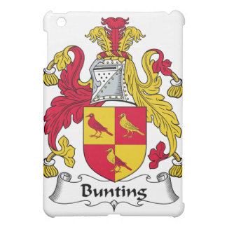 Bunting Family Crest Cover For The iPad Mini